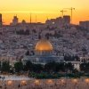Gerusalemme, 890mila abitanti, divisi al74% in ebrei israeliani e 25% arabi musulmani.La Città Vecchia èorganizzata in 4 quartieri: cristiano, armeno, ebraico e musulmano (foto Getty images)