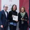 Il miglior food writer.Alessandro Guidi e Cristina Franceschetti premianoAnnalisa Zordan delGambero Rosso