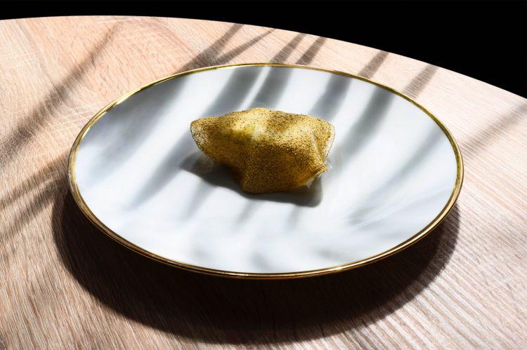 Baccalà, cetrioli e sambuco