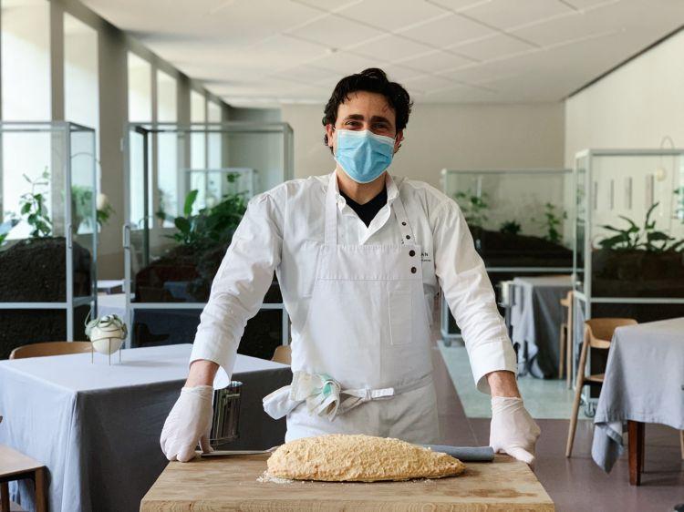 Lo chef Daniel Canzian