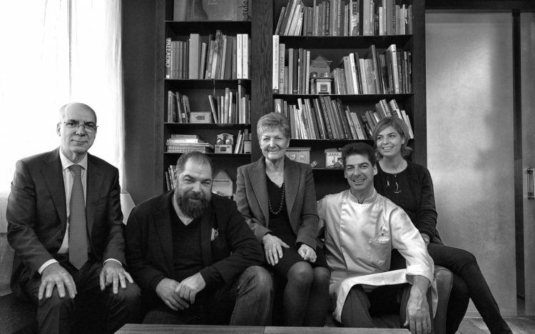 THE ALAJMOS. Erminio, Raffaele, Rita, Massimiliano e Laura Alajmo