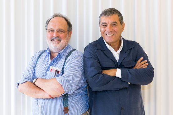 Paolo MarchiandClaudio Ceroni, founders atIdentità Golose