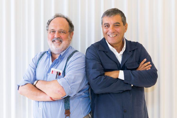 Paolo MarchiandClaudio Ceroni, founders ofIdentità Golose