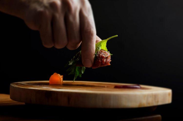 Un piatto di Stefano Deidda