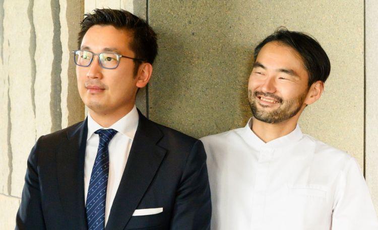 Da sinistra, Claudio Liu e Takeshi Iwai