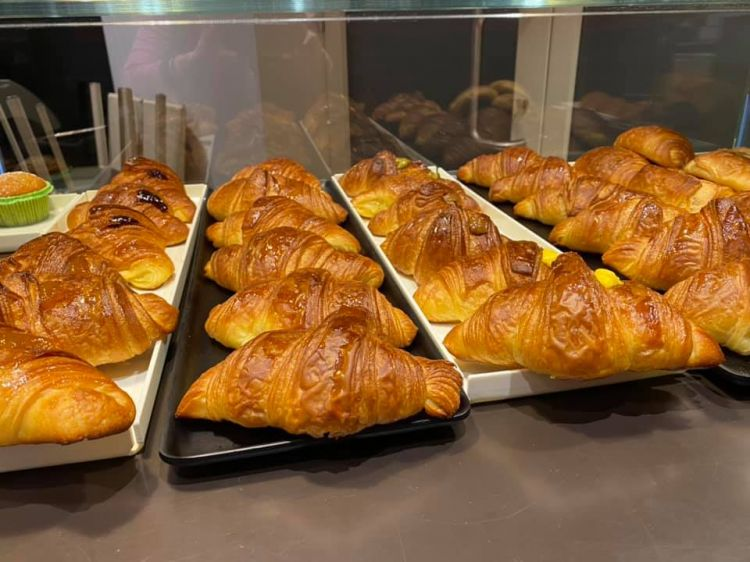 I tanti croissant de Le Macine, in versione dolce e salata