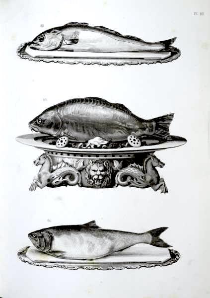 Illustrazione dalla Cuisine artistique di Dubois