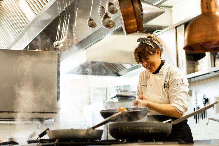 Deborah Corsi, chef de La Perla del Mare