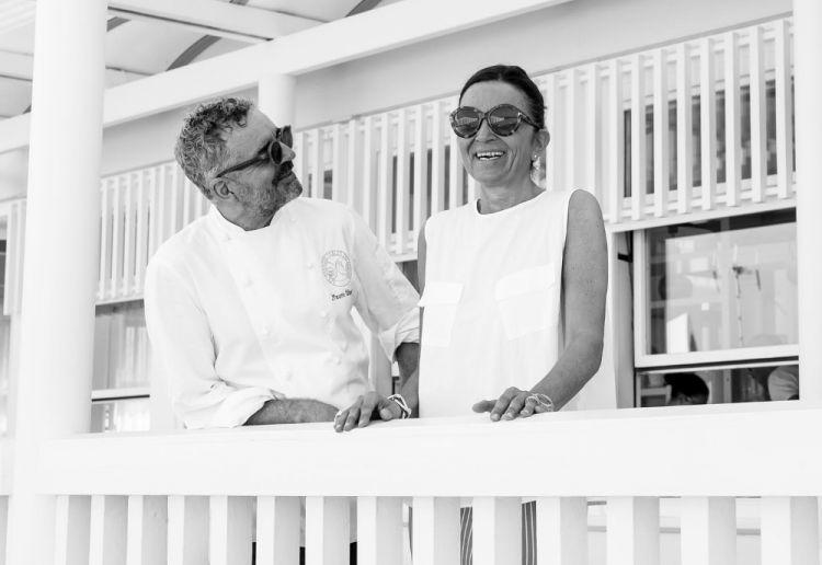 Mauro e Catia Uliassi fotografati da Alberto Blasetti