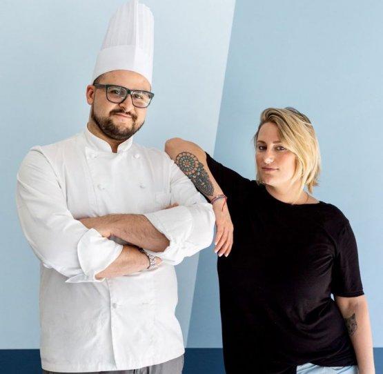 Marcello Salvatori e Ziva Parvis Bianchi