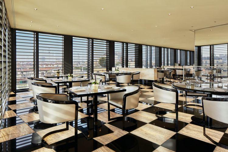 Il ristorante dell'Armani Hotel