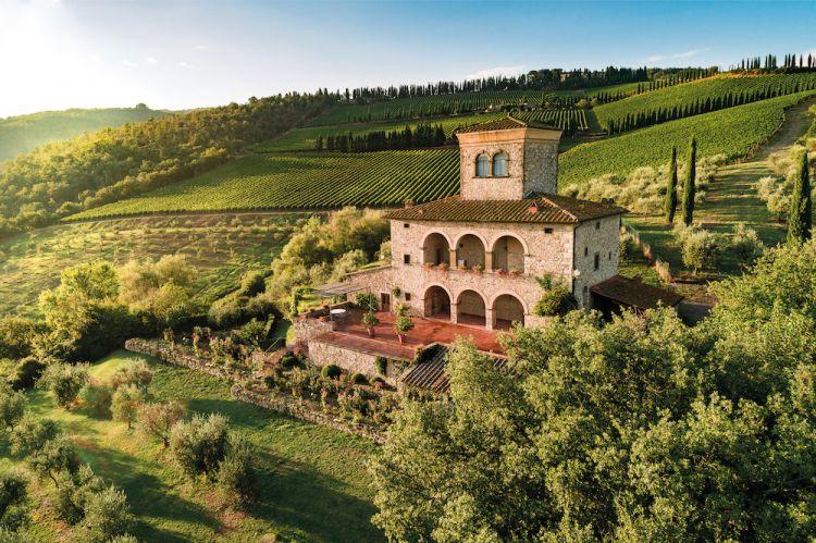 Castello di Albola, indirizzoStrada Provinciale 72, Radda in Chianti (Siena)