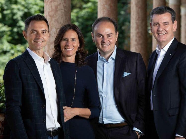 Alessandro,Camilla,Matteo eMarcelloLunelli