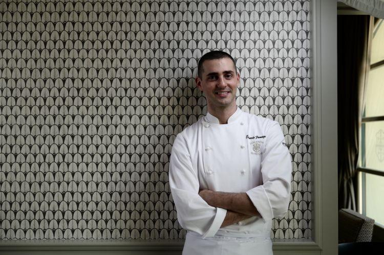 Edoardo Fumagalli, chef di Locanda Margon, classe 1989