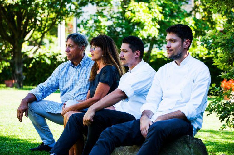 Enzo,Rosellina, Stefano e Mattia Manias, famiglia dell'anno per la Guida di Identità Golose2020