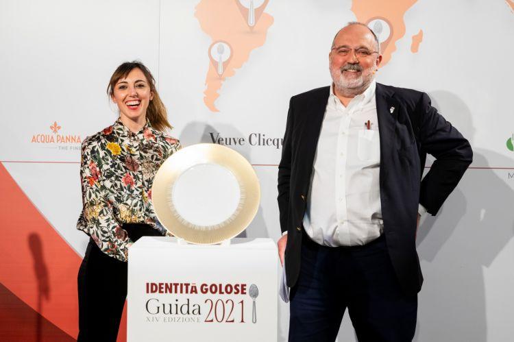 Con Paolo Marchi nel giorno della premiazione