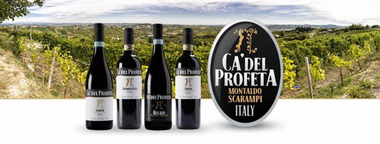 I vini di Ca' del Profeta. La cantina (e il relais più ristorante) sono di proprietà dell'ex calciatore brasilianoHernanes