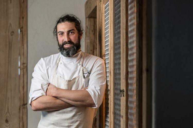 Lo chef Riccardo Gaspari