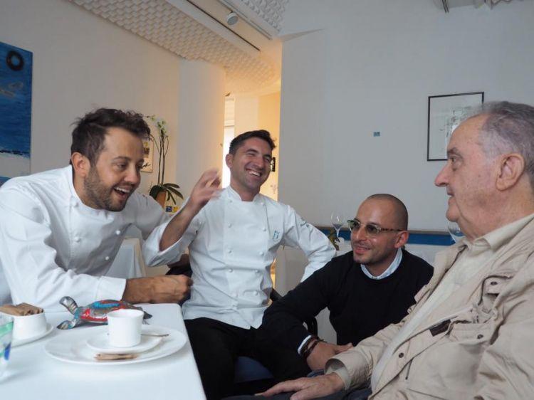 Michele VarvarawithAlessandro Negrini, Fabio PisaniandAimo Moroni