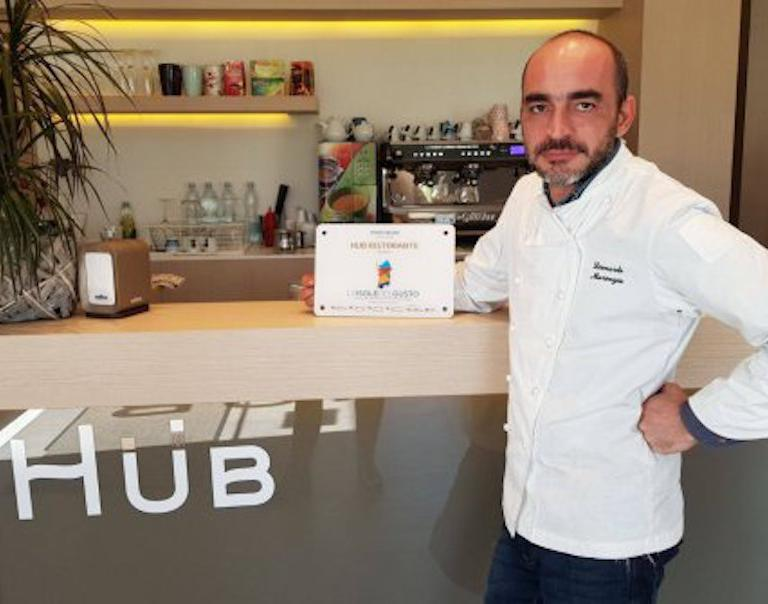 Leonardo Marongiu all'Hub