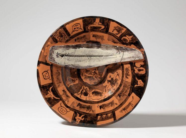 Tauromachia e lisca di sogliola, Pablo Picasso, 1957