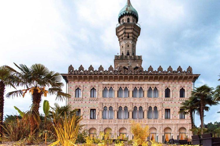 L'architettura arabeggiante di Villa Crespi