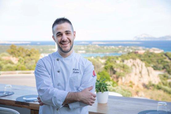Roberto Paddeu, chef del Fradesdi Milano, momentanemte ancora chiuso, eLa Terrazza di Porto Cervo