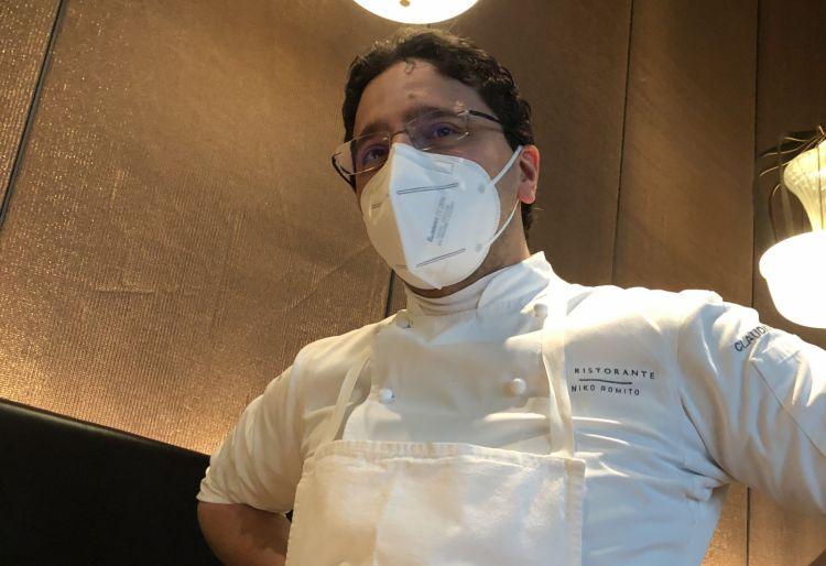 Claudio Catino, pugliese, resident chef