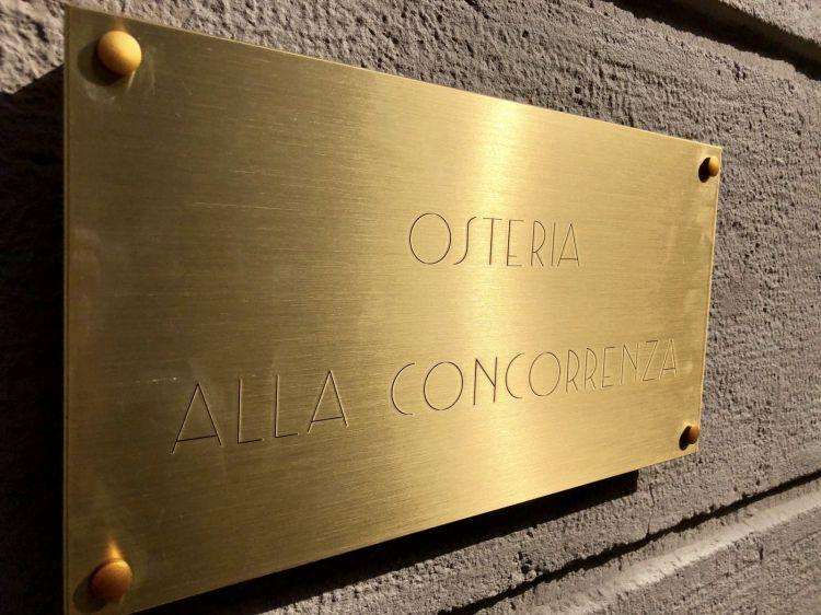 Telefono: +390291672012 instagram @osteria_alla_concorrenza mail info@osteriaallaconcorrenza.it