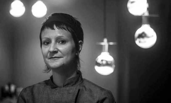 La chef Anna Barbina