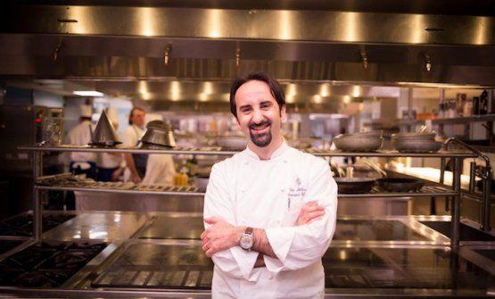 Vito Mollica, chef de Il Palagio delFour Seasons di Firenze