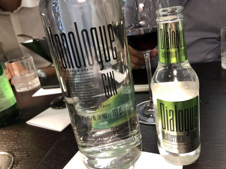 Gin Monologue and tonic water interpreted byKavcic