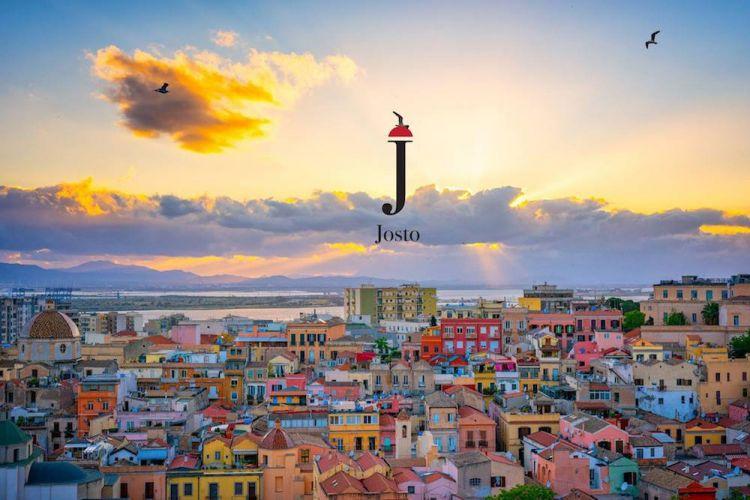 Cagliari vista dal sito di Josto