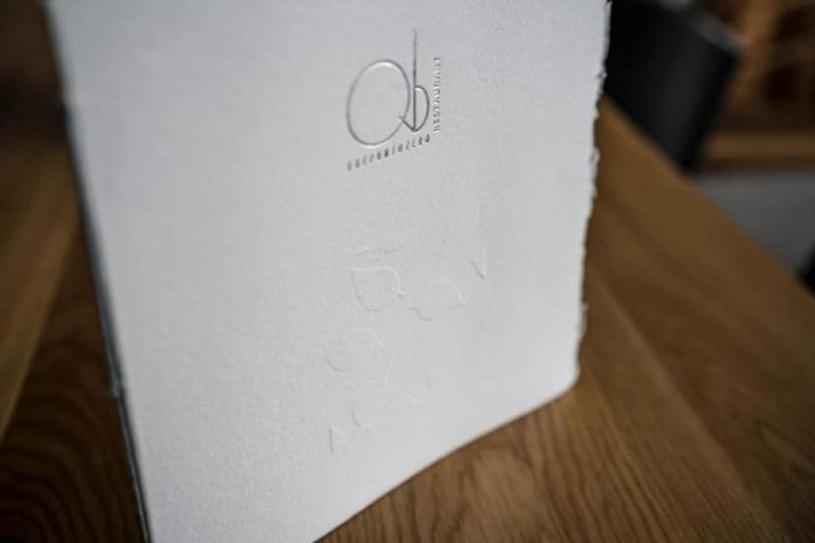 Other menus signed byToscolano Paper