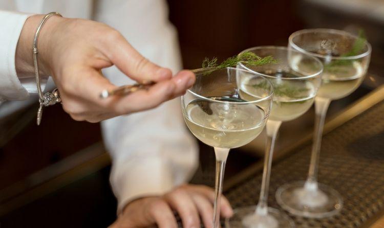 Martini Selvatico:vodka infusa al finocchietto selvatico, vermouth