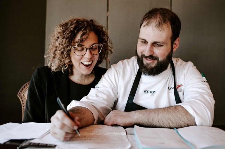 Gaia Fassone e Federico Ferrari