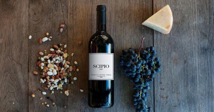Scipio è un Cabernet Franc in purezza