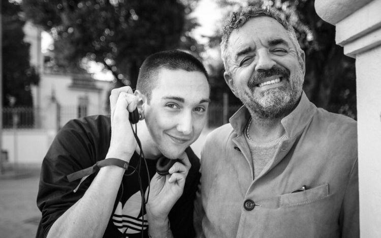 Sandano e Mauro Uliassi (foto di Andrea Moretti)