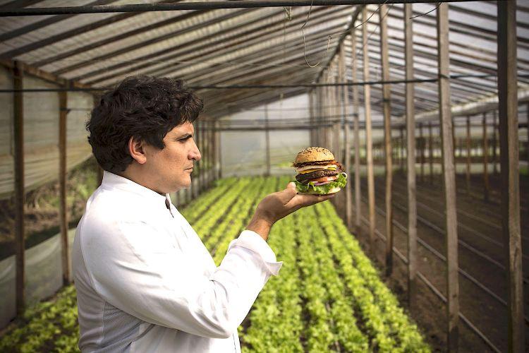 """Mauro Colagreco e i suoi hamburger """"utopici"""""""