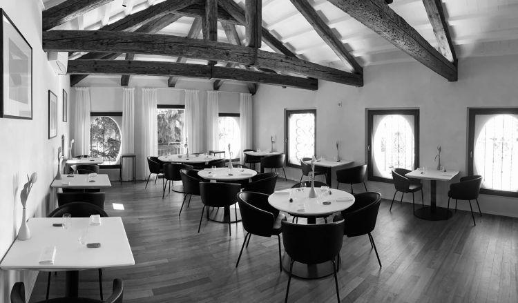 La sala del ristorante Feva