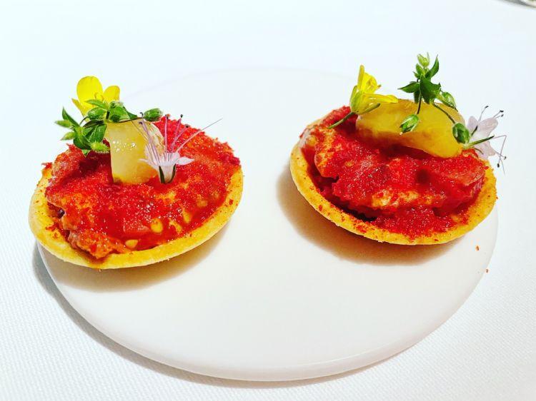 Tomato tartelette