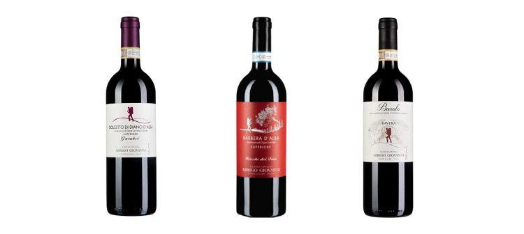 Le bottiglie degustate:Dolcetto superiore di Diano d'Alba Garabei 2019,Barbera d'Alba Superiore Rocche dei Frisu 2018,Barolo Ravera 2017