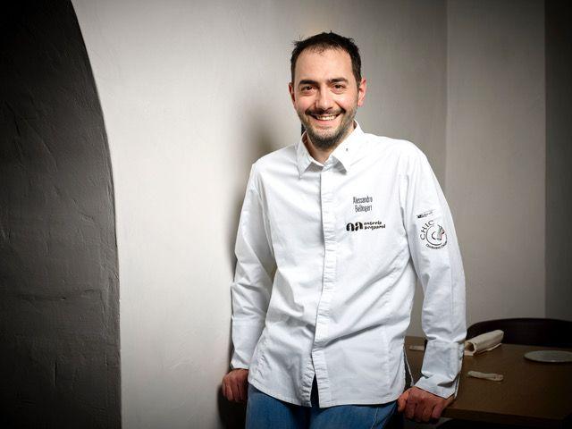 Alessandro Bellingeri, chef dell'Osteria Acquarol
