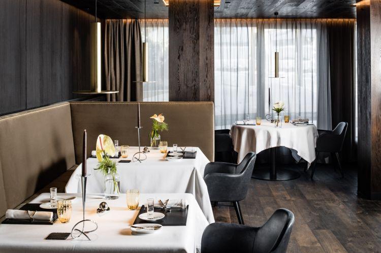 La sala dell'Alpenroyal Gourmet