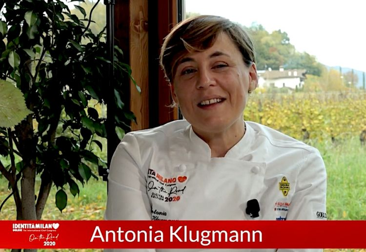 Antonia Klugmann, chef of the year according to Identità on the road 2020. Chef, not female chef
