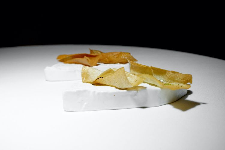 Chips al calamaro orientale e Chips al pollo speziato