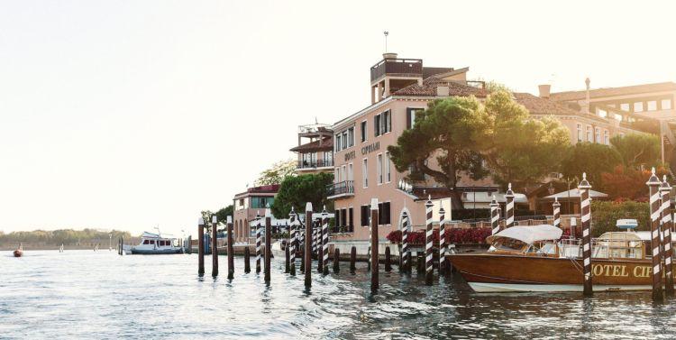L'apprododalla laguna del Belmond Hotel Cipriani