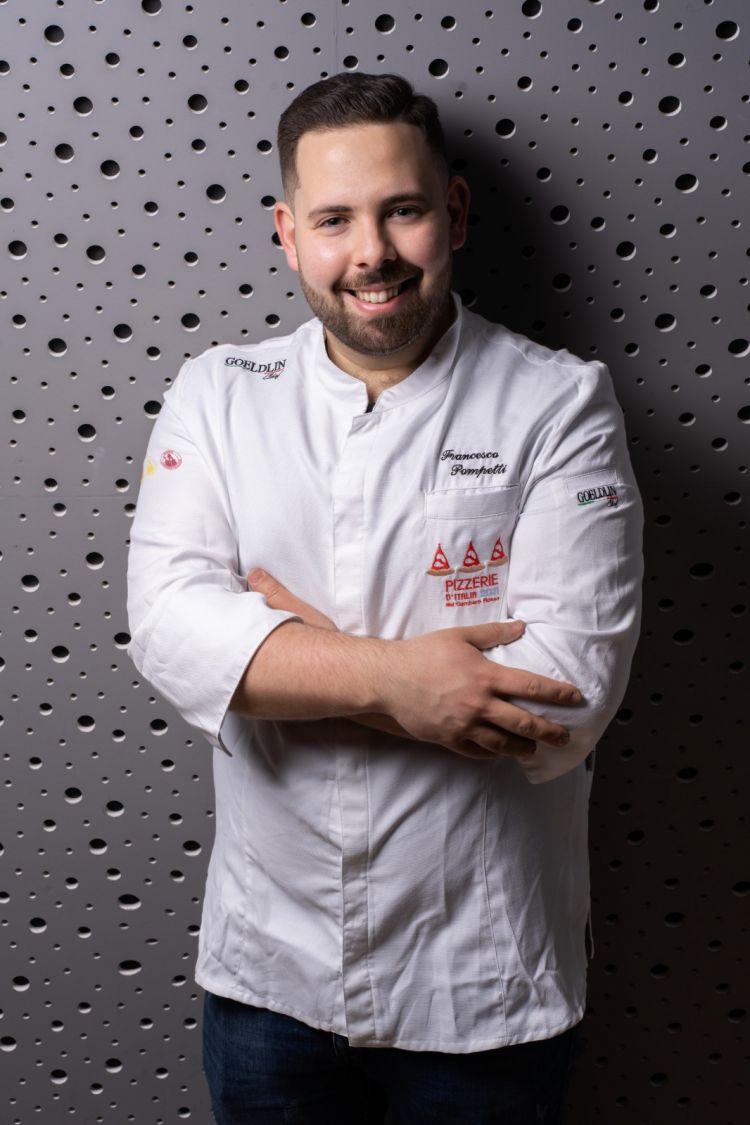 Lo chef Francesco Pompetti
