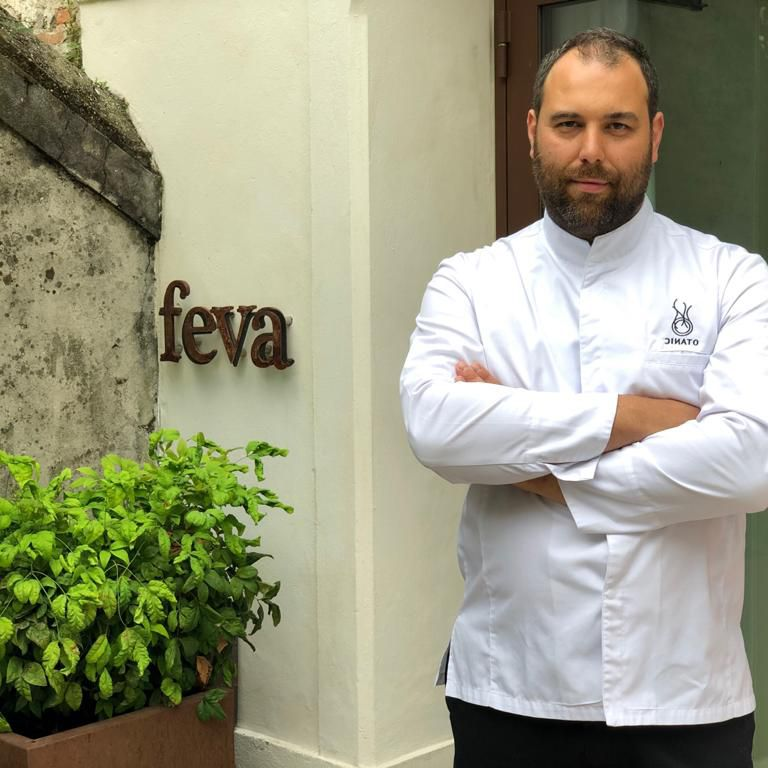 Lo chef Nicola Dinato