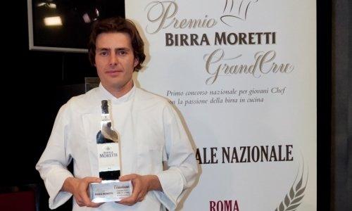 Giuliano Baldessari, vincitore della prima edizion